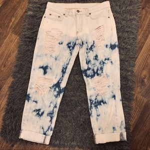 Acid Wash Boyfriend Jeans | CARMAR LF STORES